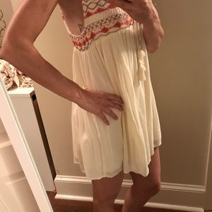 Size XS Free People lined top or dress
